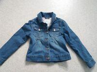 Denim jacket size 6 7 years verbaudet