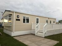 2017 ABI Hudson, luxury plus 3 bedroom Caravan for let at Silver Sands Holiday Park, Lossiemouth.