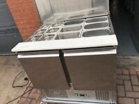 Pizza salad topping fridge catering resturant hotels pubs cafe job lot Takeway