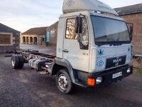 Man Chassis Cab for sale