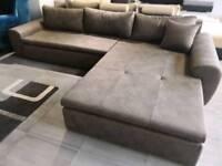 ORIGINAL PRICE £2158! URGENT!!! BARGAIN!!! BRAND NEW XL Corner sofa (bed)!!!