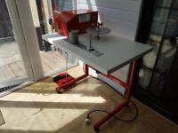 Lampshade Making Machine. Tape Binding Machine