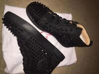 Men's Christian louboutins high tops(scroll)