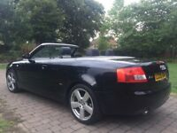 """2005 Audi A4 Cabriolet 1.8 T S Line 18"""" Alloy wheels Heated Seats 2 tone leather seats parking aid"""
