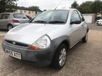 FORD KA 2005 1.3 PETROL / 71000 MILES ONLY / MOT MARCH 2019 / EXCELLENT CAR WITH NO ISSUES / £780