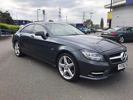 2012 62 MERCEDES CLS250 SPORTS AMG FULLY LOADED TOP SPEC FACELIFT MODEL FULL MERC HISTORY