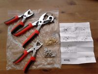 New Punch Pliers set, made in Germany. Collection from Hackney East London