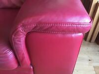 High quality leather 2 & 3 seater suite
