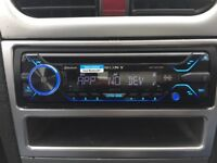 """Sony mex n4200bt stereo and 10""""edge active sub for sale"""
