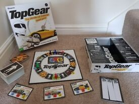 BBC Top Gear Ultimate Car Challenge Board Game 2-4 players VGC