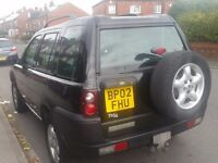 TD4 SEMI AUTO FREELANDER 19MONTHS MOT WITH A PACKAGE OF LOADS OF SPARES INCLUDES ENGINE, BOX