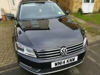2014 VW PASSAT Executive Bluemotion 2.0 TDI Estate | 6spd | FSH | NAV | LTHR