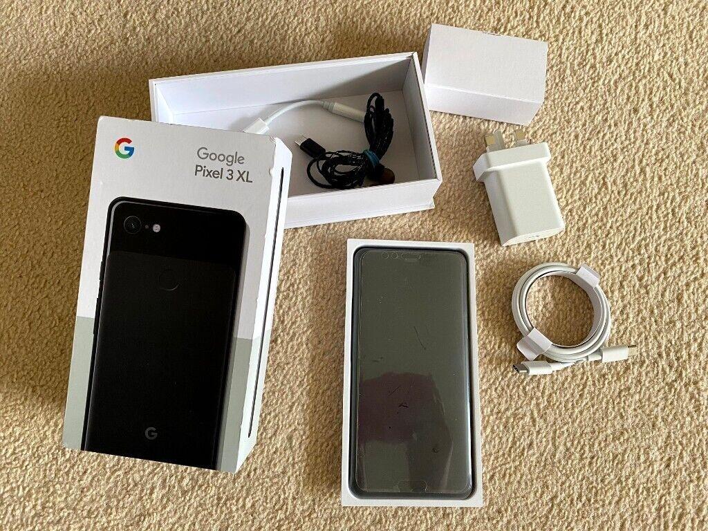 Google Pixel 3 XL 64GB Unlocked Black