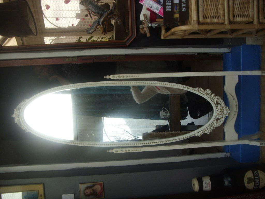 Shabby Chic Bedroom Mirror Free Standing Shabby Chic Bedroom Mirror In Ross On Wye