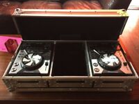 2 x Pionner CDJ-400 + Flight case and cables
