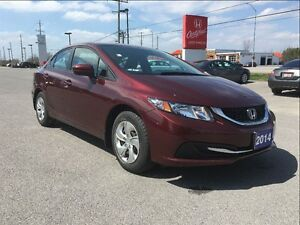 2014 Honda Civic Sedan LX 5MT