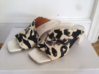 & other stories heeled sandals - Size 5 - Genuine leather - £15 only