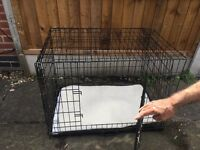 Double Door Pet Crate - Large