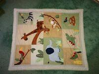 Cot patchwork quilt