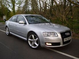 DEC 09 AUDI A8 QUATTRO SPORT TDI - 1 OWNER - MINT FULLY LOADED - PX NOT S CLASS 730 JAGUAR A6