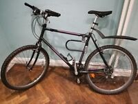 selling my Raleigh mountain bike, reliable and perfect for moving around the city. just £60