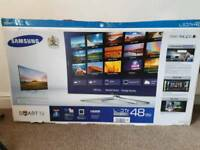 Samsung 48 inch smart tv in exelent condition
