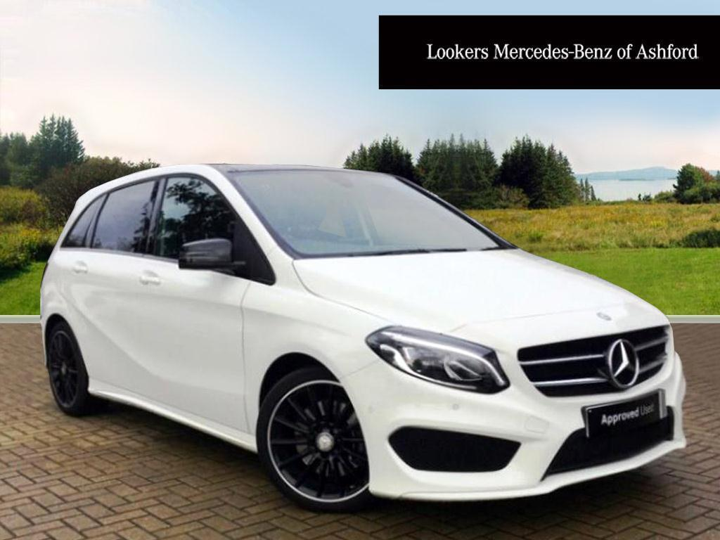 mercedes benz b class b200 cdi amg line premium plus white 2015 09 14 in ashford kent gumtree. Black Bedroom Furniture Sets. Home Design Ideas