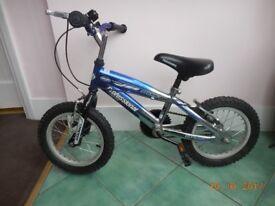 Professional Slider Child's bike and helmet