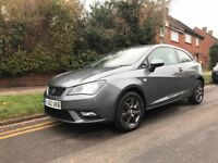 SEAT IBIZA 2013 1.4L PETROL/VW POLO-IMMACULATE CONDITION-VERY LOW MILLAGE 15K FROM NEW-FIRST TO SEE