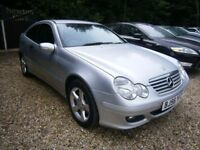 ** NEWTON CARS ** 06 56 MERCEDES C220 CDI SE AUTO COUPE, GOOD COND, ALLOYS, FULL MOT SUPPLIED, CALL