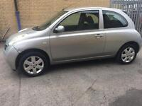 Nissan micra 1.2 3 door hatchback 12 months mot nice car for £599