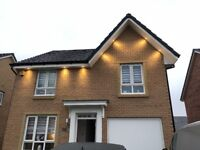 10x External LED Downlights Outside your home 10 year guarantee