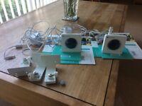 Indoor HD Wi-Fi Video Camera by Y-Cam. 2 Cameras (Model HMHD105)