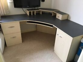 Office Desk/Workstation 1700x1700x600mm