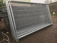 Heras fence panels read description