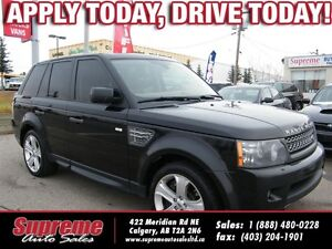 2011 Land Rover Range Rover Sport Supercharged w/NAVI/B.CAM/S.RO