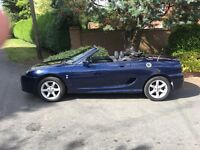 MGTF Sports convertible - low mileage
