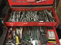 Snap On Tool chest and tools.