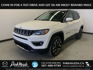 2018 Jeep Compass Limited 4x4 - Bluetooth, Backup Cam, Remote St