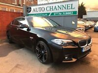 BMW 5 Series 2.0 520d Luxury Saloon 4dr Diesel Automatic (119 g/km, 184 bhp) p/x welcome