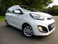 Kia Picanto VR7 LOOK @ THE MILEAGE (white) 2014
