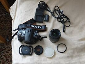Sony a380 dslr with extras