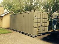 Quality 20ft 40ft sea containers delivered to your door.