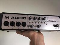 M Audio Track Quad