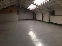 2 X Industrial Units - 3000sqft & 1950sqft - B1/B2 Workshops & Office Space