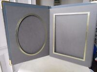 Leather bound photograph portfolio - NEW