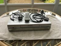 Panasonic VHS recorder/player in very good condition