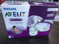 Brand new unopened Philips Avent electric natural breast pump