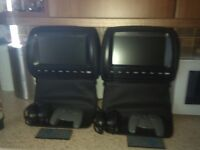 9inch headrest dvd players
