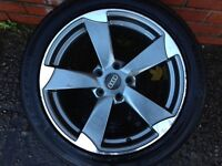 "Audi A3 alloy wheel 17"" black edition for sale"